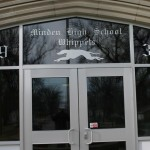 Glass work done by Tri-County Glass Inc. | Minden High School - Minden , NE