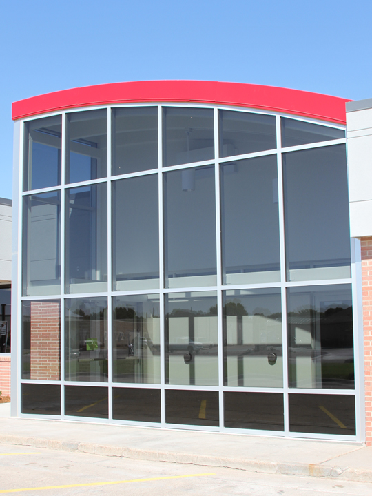 Glass work done by Tri-County Glass Inc. | Custer County Public Power District - Broken Bow, NE
