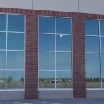 Glass work done by Tri-County Glass Inc.   Hy-Vee Store - Kearney, NE